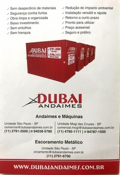 Locação Container para Obras Preço Jundiaí - Locação de Container Obra