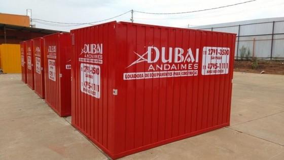 Onde Encontro Container com Segurança Marapoama - Container para Canteiro de Obras