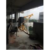 aluguel de equipamentos para construção civil na Anália Franco
