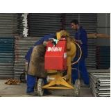 empresa para locação de betoneira com carregador na Anália Franco