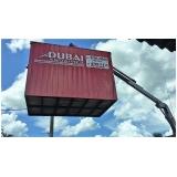 locação de container canteiro de obra preço São Vicente