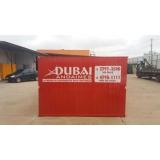 locação de container para obras valor Cambuci