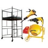 locação de equipamentos para construção no Morumbi