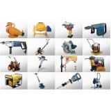 quanto custa equipamentos para construção civil para locação em Moema