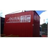 locação container para obra valor Caieiras